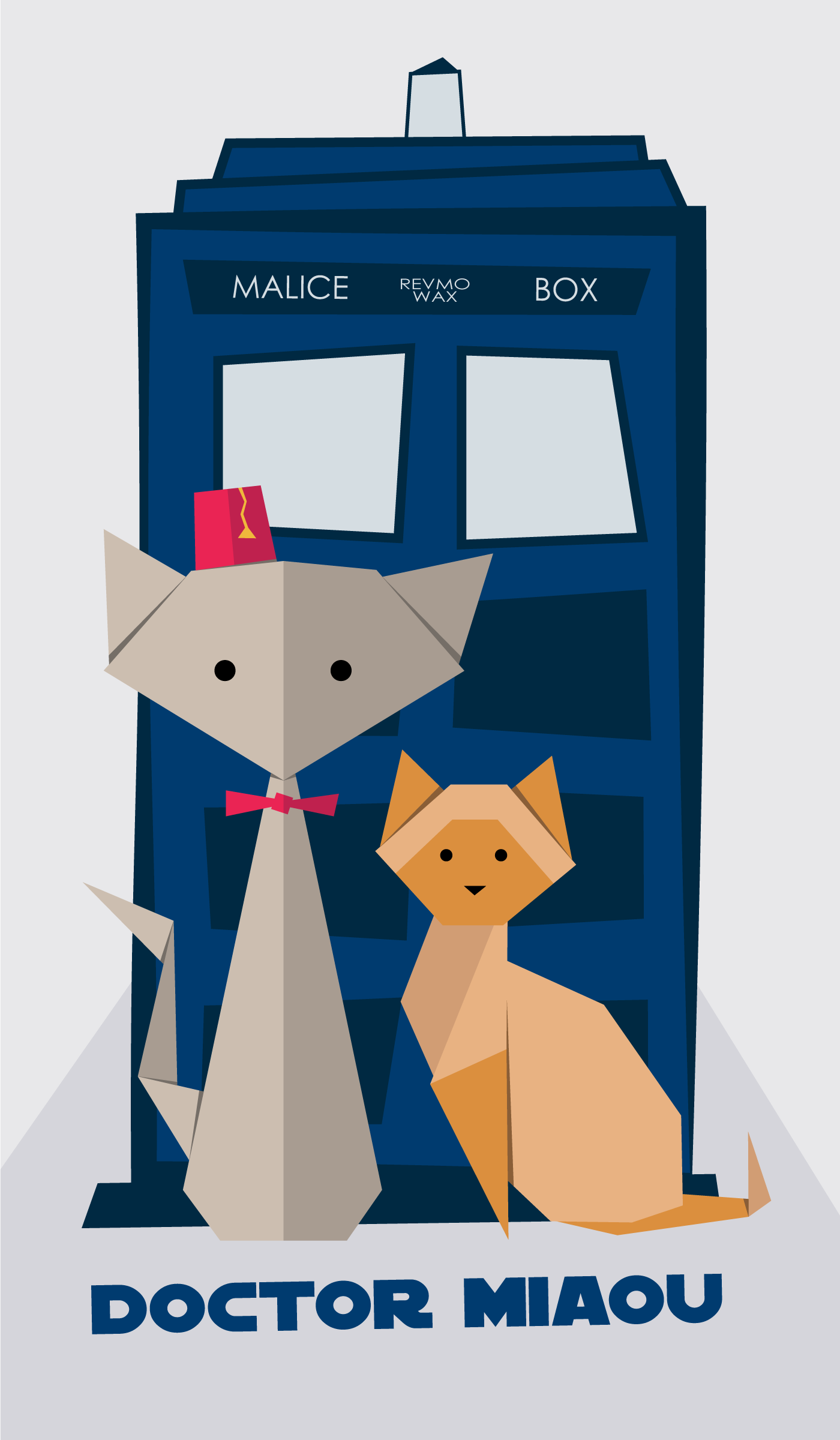 Doctor Miaou illustration HD