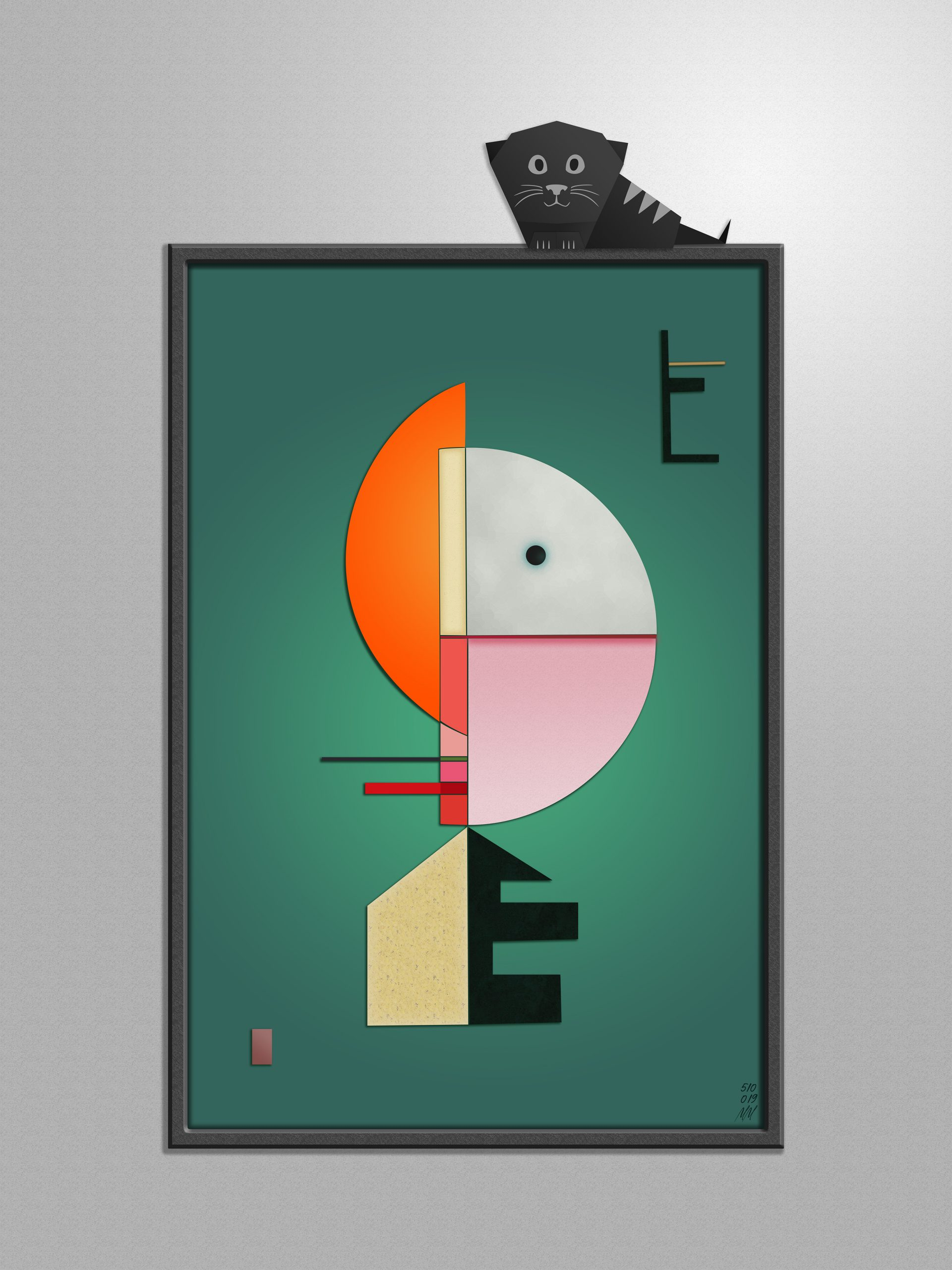 Mockup HD de Kandinsky Upward